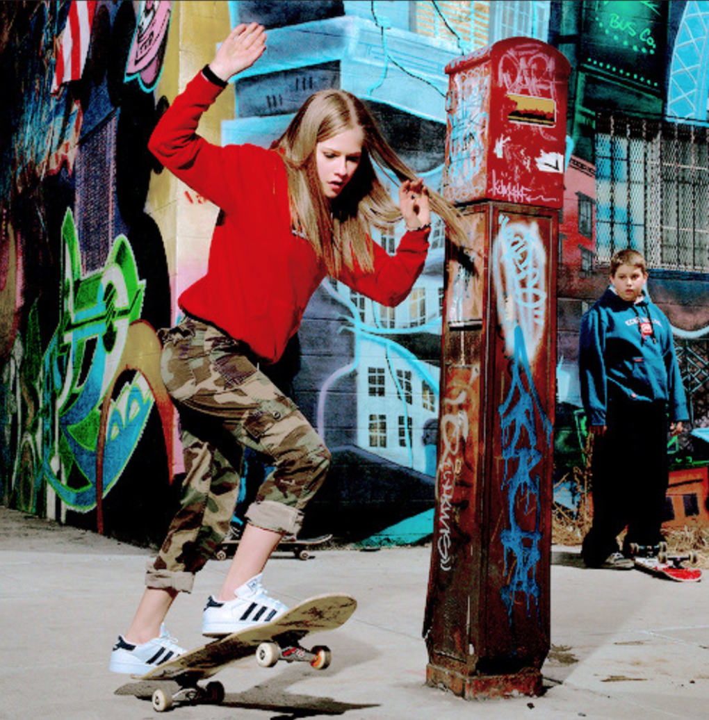 Women Who Skateboard.
